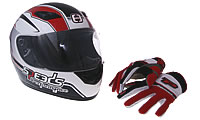 Helmets & Clothing Tryptic 125i ABS 15- 2CM