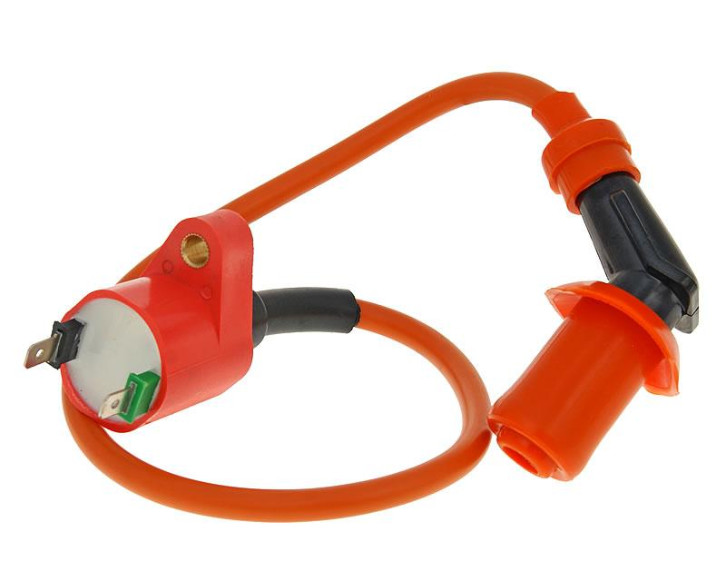 CPI Oliver Sport 50 post 2005 HT Lead Ignition Coil  /& Cap 2 Pin
