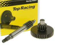 JASIL Racing Top Performance Scooter Primary Transmission Gear Up Kit Top Racing +33% 14/42 for 13 tooth countershaft