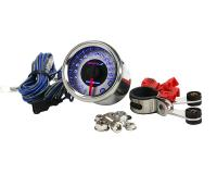 rev counter Koso Chrome Style D48 Tachometer max 15000 rpm