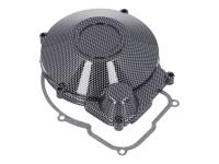 engine ignition cover / alternator cover carbon-style for Minarelli AM6