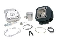 70cc Polini Racing Cylinder Kit Cast Iron 47mm Bore 10mm pin for Minarelli Horizontal AC Scooter Engines