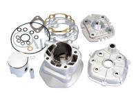 cylinder kit Polini aluminum racing Evolution 70cc 10mm piston pin for Minarelli horizontal LC