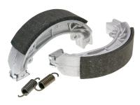 brake shoe set Polini 110x25mm w/ springs for drum brake for Aprilia Amico, SR, Malaguti Centro, Yamaha Jog