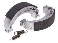 brake shoe set Polini 110x25mm w/ springs for drum brake for Gilera, Piaggio, Vespa