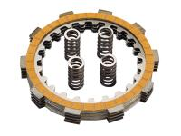 clutch disk set Polini for Minarelli AM, Generic, KSR-Moto, Keeway, Motobi, Ride, 1E40MA, 1E40MB