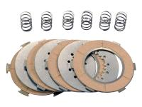 Polini Vintage Vespa Parts Clutch Disk Set Polini for Vespa PX 125, PX 150 Sprint Classic Vintage Scooter Parts