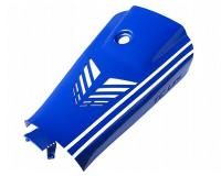 battery case cover Top Custom Line blue for Yamaha Aerox, MBK Nitro