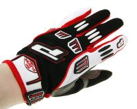 gloves ProGrip MX 4010 white-red size S