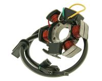 Aprilia & Derbi Stock Replacement Parts Workshop Spares for Motorbikes Alternator Stator for for D50B0 E-Start, Aprilia RS4, Derbi Senda, Derbi GPR Motorized Driven Cycle Parts