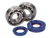 crankshaft bearing set Polini for Minarelli CW, MA, MY, CA, CY