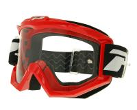 MX goggle ProGrip 3201 Race Line red
