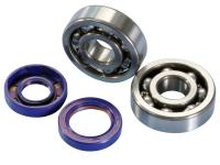 crankshaft bearing set Polini for Minarelli AM6, Generic, KSR-Moto, Keeway, Motobi, Ride, CPI, 1E40MA, 1E40MB
