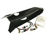 undertail bodywork / underseat tray MTKT black for Honda PCX 125, 150