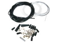 Scooter and Moped Replacement Throttle Cable Set Universal - Spare Cable Kit