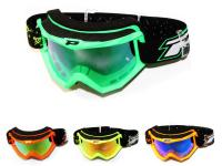 Motorcycle MX Accessories Shop & Riding Gear Pro Rider Goggles by ProGrip 3204 FLUO MATT MX Series