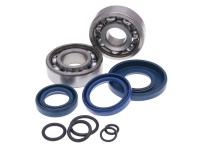 Vespa RMS Vintage Spares Hard-To-Find Scooter Parts Crankshaft Bearing Set SKF 19mm incl. o-rings for Classic Vespa 50, PK 50