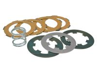 Ferodo Classic Vintage Vespa Scooter Parts Complete Ferodo Clutch Set with 3 heat-treated steel plates, 4 strengthened, race-ready friction plates and clutch spring for Vintage Vespa Scooters