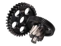 TDR Scooter Parts Taiwan Racing Shop - Upgraded Secondary Transmission Gear Up Kit TDR Racing 12/33 for Yamaha Aerox, N-Max, NVX 155