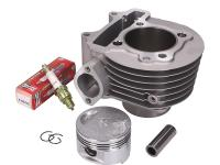 cylinder kit EVOK 150cc 57.4mm for Kymco Agility R16 150, GY6