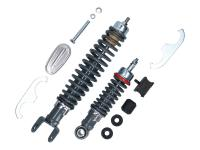 shock abosrber kit front + rear Carbone Sport RS adjustable for Vespa Smallframe