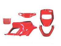 Scooter Tuning & Styling Parts by TNT - Shop TNT Scooter Parts & Accessories Fairing Kit in red 5-part for MBK Booster 50cc Scooters