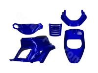 Parts For Scooters Body Plastics by TNT - fairing kit blue metallic 5-part for MBK Booster