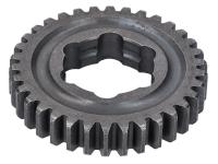 idler gear 34 teeth 3rd speed 3-speed transmission for Simson S50, SR4-1, SR4-2, SR4-3, SR4-4 KR50/1, KR51/1 Schwalbe, Star, Sperber, Spatz, Habicht