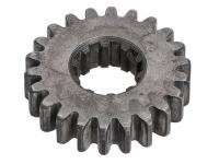 idler gear 22 teeth 3rd / 4th speed for Simson S51, S53, S70, S83, SR50, SR80, KR51/2, M531, M541, M741