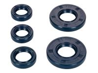 oil seal set TCK blue for Simson S50, SR4-1, SR4-2, SR4-3, SR4-4, KR51/1 Schwalbe, Star, Sperber, Spatz, Habicht