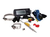 KOSO Performance Parts - Digital Koso exhaust gas temperature EGT meter - Koso hook-and-loop type