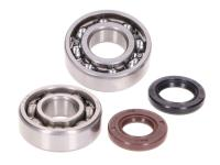 50cc GY6, QMB139 4-stroke Parts For Scooters - Crankshaft Engine Bearing set w/ shaft seals for GY6, 139QMA, QMB China 4T Scooters