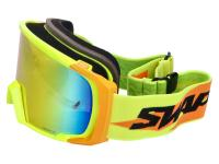 Shop Off-Road MX Dirt Bike Goggles & Motocross Goggles - MX goggle SWAPS yellow / orange - iridium orange