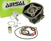 cylinder kit Airsal sport 49.2cc 40mm, 39.2mm cast iron for Minarelli LC