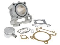 cylinder kit Airsal T6-Racing 125cc 52mm for Yamaha, MBK 125 4T LC