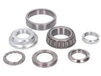 GY6 Steering Bearing Complete Set for GY6 152QMI, 152QMJ, 157QMI, 157QMJ, ZNEN 4-stroke Engine Scooters with Tapered Roller Bearings by 101 Octane Parts