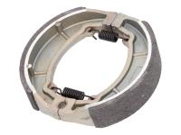 GY6 Brake Shoe Set for Drum Brake 125x27mm for 152QMI, 152QMJ, 157QMI, 157QMJ, GY6 125cc and 150cc Scooters