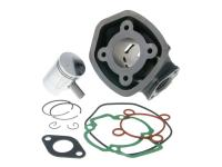 Cylinder Kit 50cc for Piaggio LC Pentagonal (1997-) Aprilia SR50, Derbi Atlantis 50 LC, Derbi GP1, Piaggio Zip 50 by 101 Octane Scooter Parts