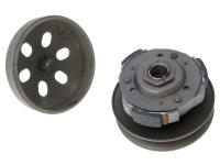Maxi Scooter 101 Octane Scooter Replacement Clutch Pulley Assembly with Bell for Kymco Agility, Super 8, Movie, Like, CF Moto, SYM HD200, SYM Fiddle 150, ZNEN Scooters