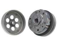 1E40QMB Complete Clutch Pulley Assembly with 112mm Bell for CPI, Keeway, QJ, Vento, Generic, Morini 50cc by 101 Octane Scooter Replacement Parts