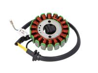 GY6 157QMJ QMJ157 Electrical Engine Parts 18 Coil Alternator Stator d=88.5mm for GY6 125, GY6 150