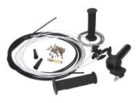 Racing Planet Scooter Full-Race Quick Action Swap Throttle Kit in Black - Universal Scooter Upgrade Applications