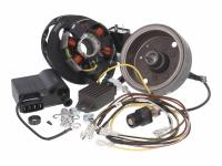 ignition conversion kit for Simson S50, S51, S70, Schwalbe KR51/2, SR50, SR80 to 12V Ducati Energia / Kokusan ignition