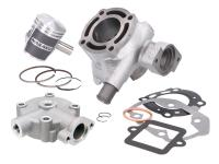 Shop Naraku Scooter Performance Parts - Upgraded Cylinder Kit Naraku V.2 50cc incl. cylinder head for Peugeot Speedfight 3/4 LC, Jet Force C-Tech 2013-