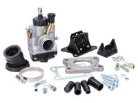 carburetor kit Malossi MHR 21 w/ reed block for Minarelli AM, Derbi D50B, EBE, EBS
