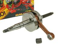 Morini Minarelli Racing Crankshaft Malossi 10 mm pin RHQ STROKE 37.4mm Suzuki, Italjet Scooters