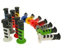 TNT Tuning Scooter Parts & Accessories Racer 22mm Handlebar Rubber Grip Set TNT 922X various colors for Bikes, Scooters, and MiniBikes