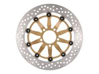 brake disc NG floating type for Suzuki GSX-F 750, GSX-R 750 front