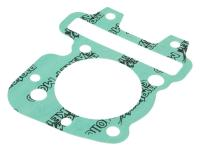 Piaggio Naraku Scooter Parts at Racing Planet Cylinder Base Gasket 0.40mm for Piaggio 50 4-stroke, Aprilia, Italjet, Piaggio, Vespa Scooters