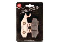 brake pads Naraku sintered for Piaggio X7, X9, X-Evo, MP3, Vespa 946, GTS, GTV